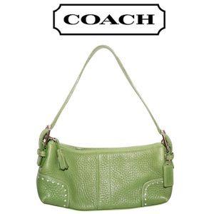 COACH Demi Baguette Shoulder Bag - Lomé Green
